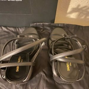 $995 saint laurent shoes women ,size 39